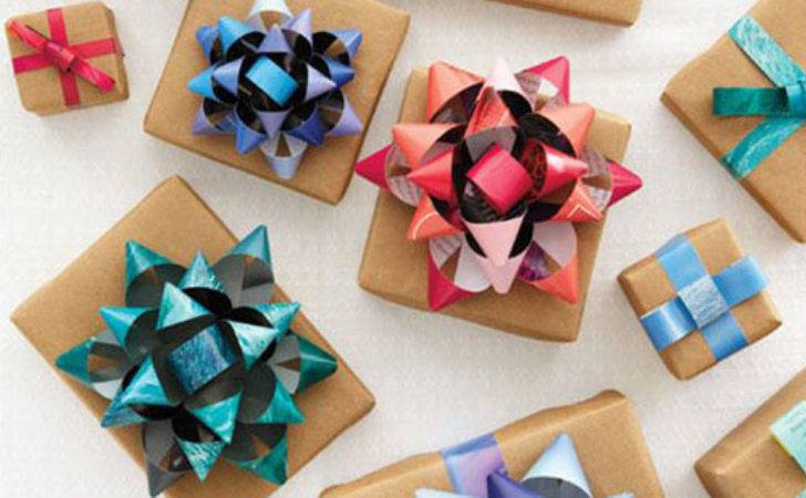 Wrapping Paper Christmas Crafts