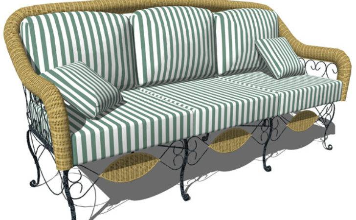 Wrought Iron Sofa Seater Model Formfonts Models