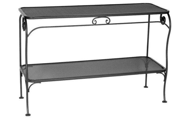 Wrought Iron Sofa Table Fascinated Homesfeed