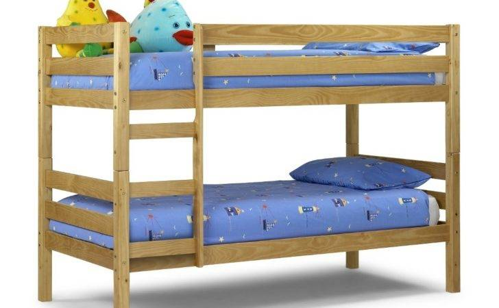 Wyoming Antique Solid Pine Wooden Bunk Bed