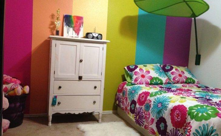 Year Old Rainbow Room Girls Rooms Pinterest