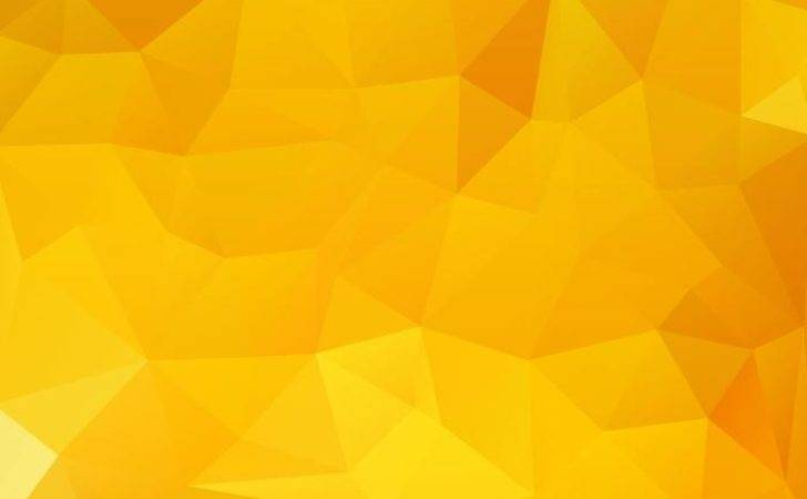 Yellow Abstract Vector Art