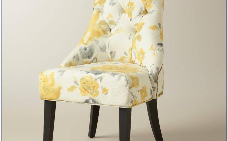 Yellow Dining Room Chair Pads Chairs Home Design Ideas