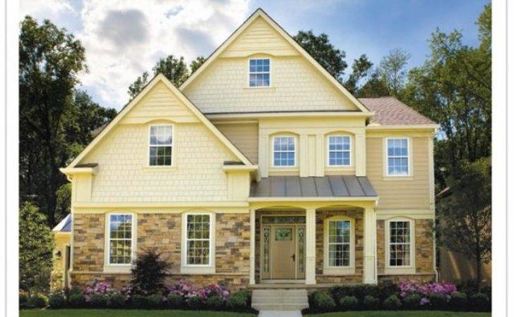 Yellow Exterior House Paint
