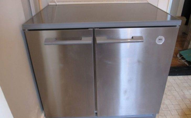 Zanussi Electrolux Undercounter Side Fridge
