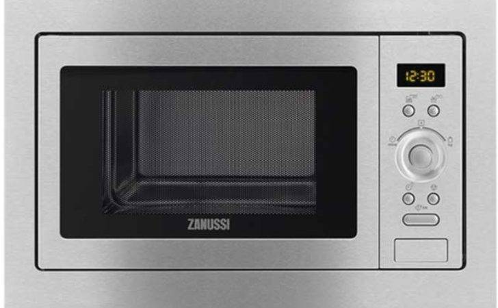 Zanussi Zsc Integrated Microwave Oven Stainless